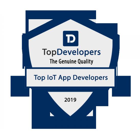 TopDevelopers.co announces Cubix as a top IoT app development company november 2019