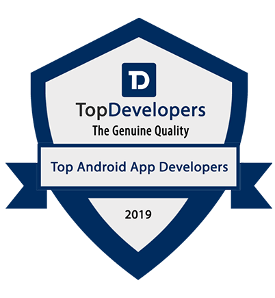 Cubix titled as a top android app developer for 2019 by TopDevelopers.co