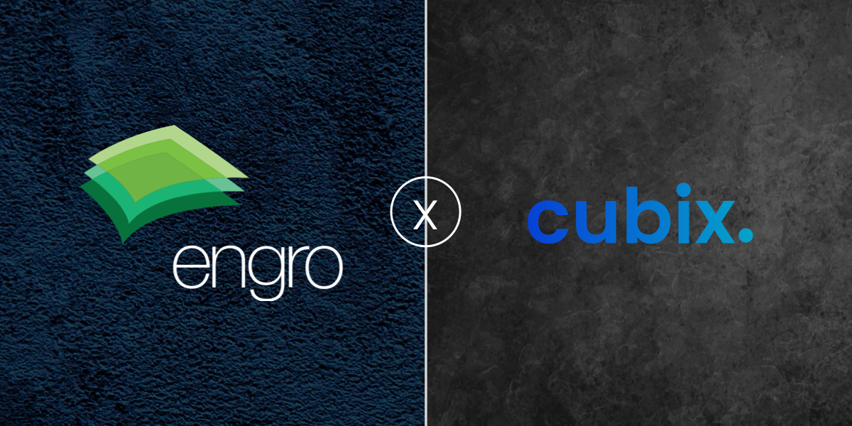 Engro is on-board with Cubix for a novel project!