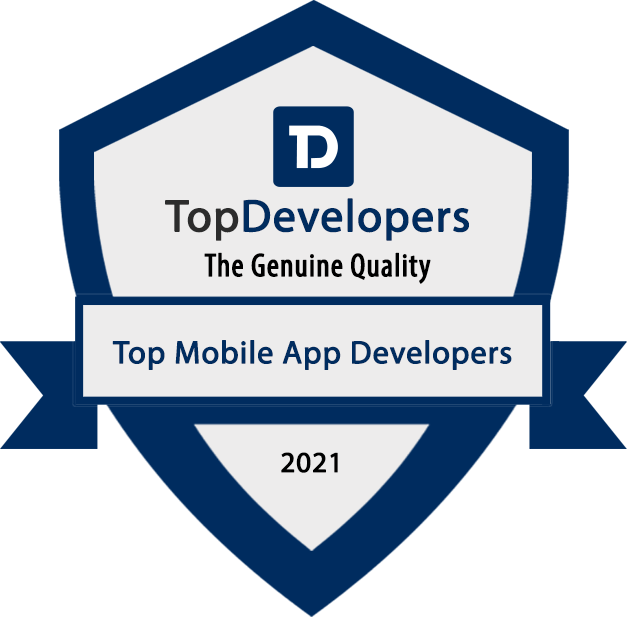 Cubix ranked as a top mobile app development company for march, 2021