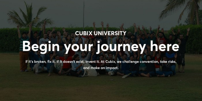 Cubix University to Go Ahead with Its Premier Internship Program 2021 With All Covid-19 Precautions
