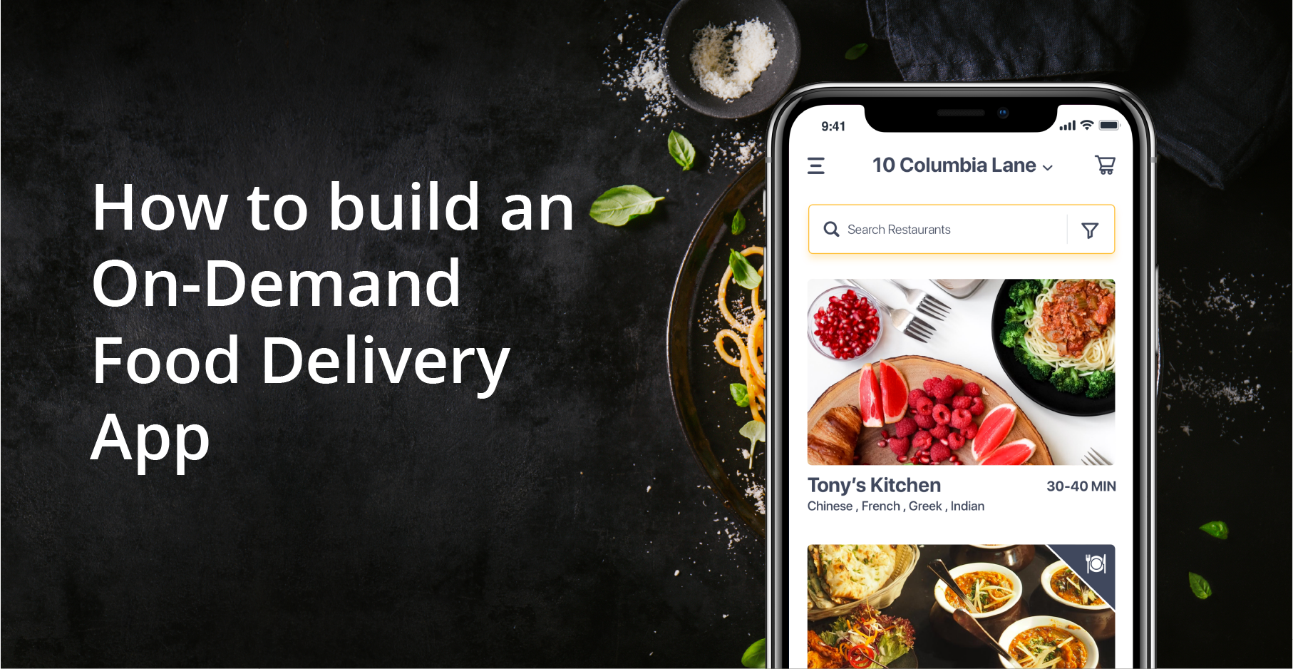 on demand food app