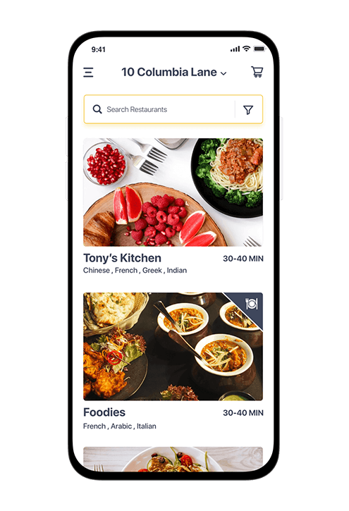 Foodly Mobile App - The Hub of Delicious Cuisines